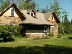 original farmhouse at the Ardill Ranch